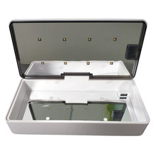 Tube & LED UVC Sterilizer Box Nails Accessoires Personal Care Tools Rechargeable Disinfection Cleaning Device