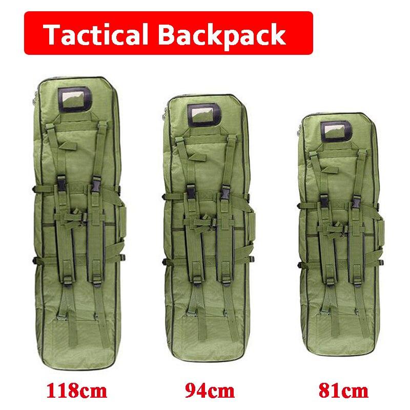 81cm 94cm 118cm tatico airsoft rifle arma holsters quadrado caso arma de caca rifle arma transportar