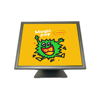 Factory price LCD display portable monitor 17 inch pos touch screen monitor