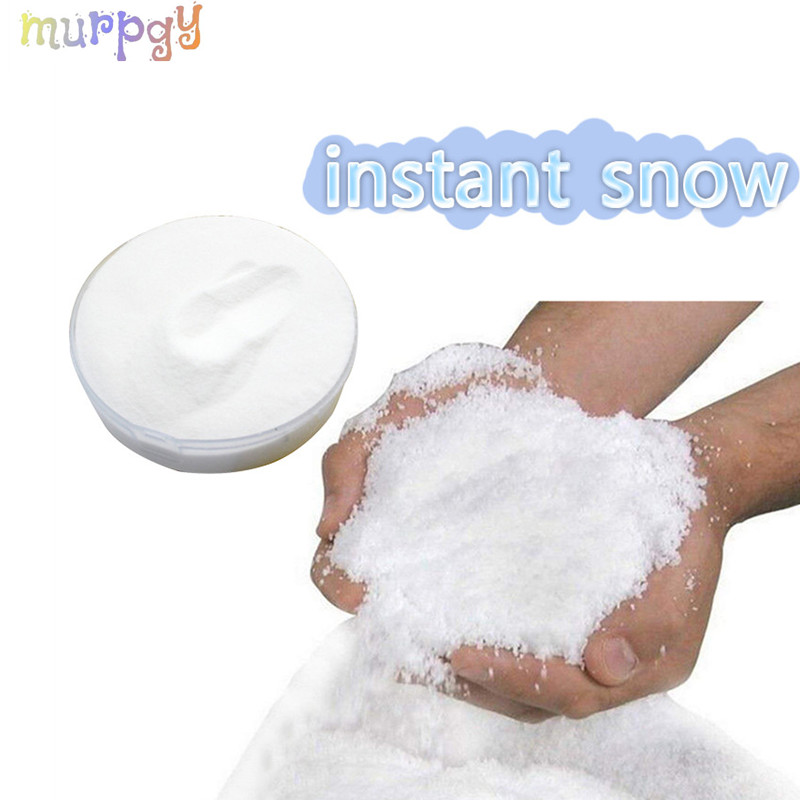 Fake Magic Snow For Charms Slime Accessories Modeling Clay Fluffy Instant Super Snow Powder Accessories Toy For Kids Supplies