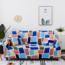Vintage elástico fundas transversal elástico cubierta del sofá para la sala de cubierta de sofá en forma de L sillón cubierta