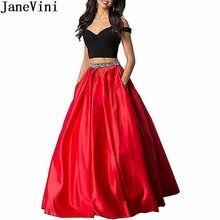 Compra Verde Vestido De Satén Rojo Online Compra Verde