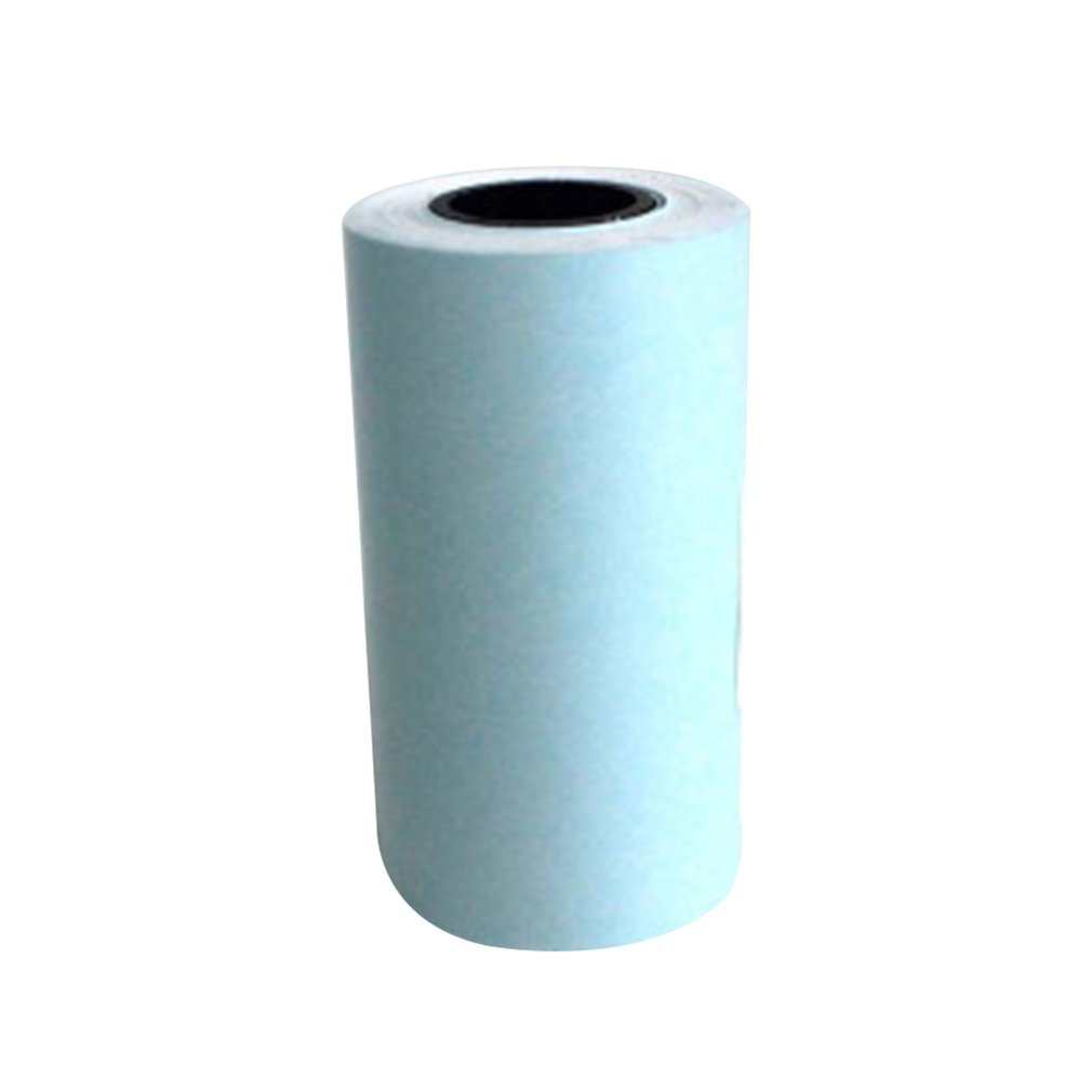 Pocket Printer Special Printing Paper 57*30Mm Thermal Printing Paper With Adhesive Printing Paper Sticker Paper