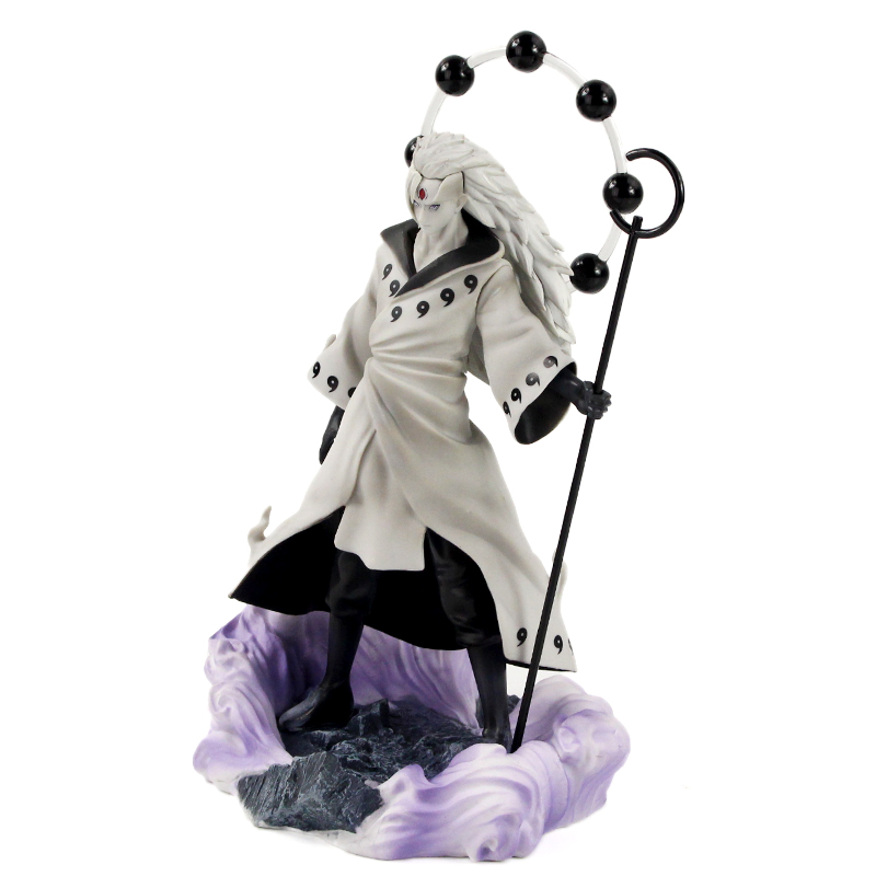 25-27cm Naruto Figure Statue Uchiha Obito Rikudou Sennin Decoration Toys PVC Collection Model Doll Gift 34