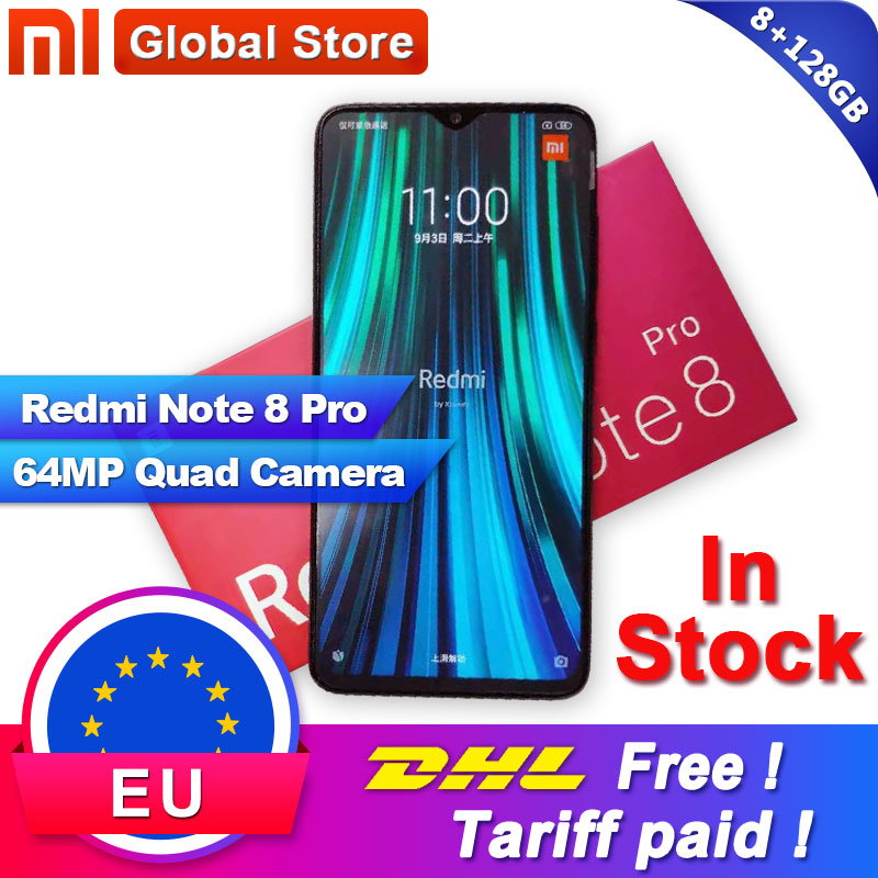 Xiaomi Original Redmi Note-8 128GB Adaptive Fast Charge Fingerprint Recognition 64MP