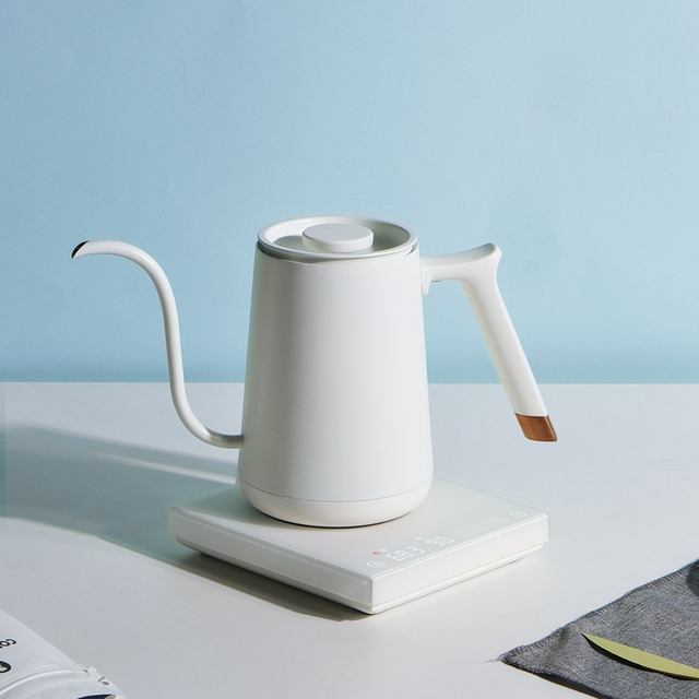 Smart Electric Temperature Controlled Goose Neck Kettle 5