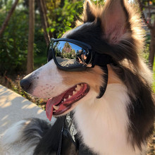 Cool Dog Sunglasses UV Protection Windproof Goggles Pet Eye Wear Medium Large Swimming Skating Glasses Accessaries