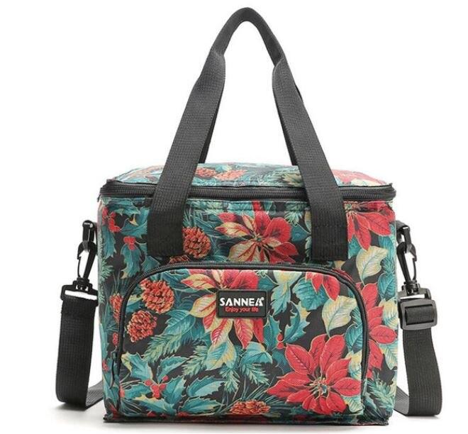 Soopream Food Fresh Keep Lunch Cooler Bag Waterproof Picnic Travel Storage Icepack Insulated Beer Lunch Bags Bolsa Termica Ice