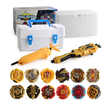 12pcs/set Tops Set Launchers Beyblade burst turbo Gt Toy metal fusion Gyro Toupie Metal God Burst Spinning bayblade Bey Blade