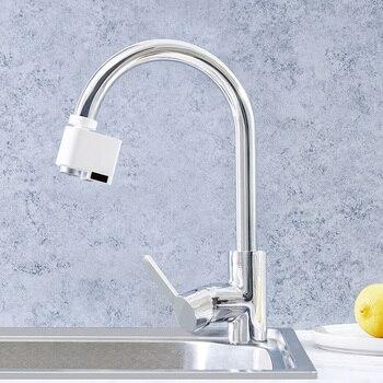 New Smart Faucet Infrared Sensor Water Saving Water Saving Energy Saving Overflow Faucet Sensor Water Saving Device
