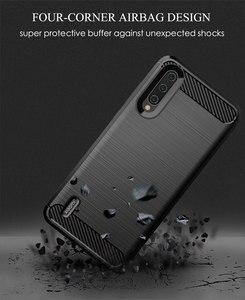 Image 5 - Funda de teléfono para Xiaomi Mi A3 un 3 de lujo, cubierta de fibra de carbono xiami CC9 CC9e CC C 9e C9 C9e 9 suave MiA3 MiCC9 MiCC9e Coque de silicona