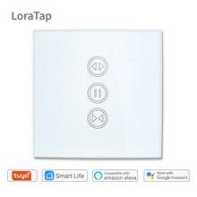 Tuya Smart Life WiFi шторы Жалюзи переключатель для электрические рольставни моторизованный пульт дистанционного управления настенный сенсорный переключатель Google Home Amazon Alexa Echo Голосовое управление Умный дом