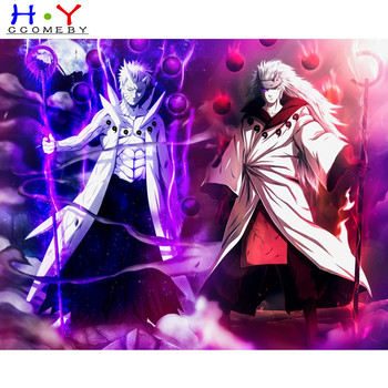 5D DIY diamond painting cartoon Anime Sasuke Naruto diamond embroidery rhinestone cross stitch painting diamond Home decor image