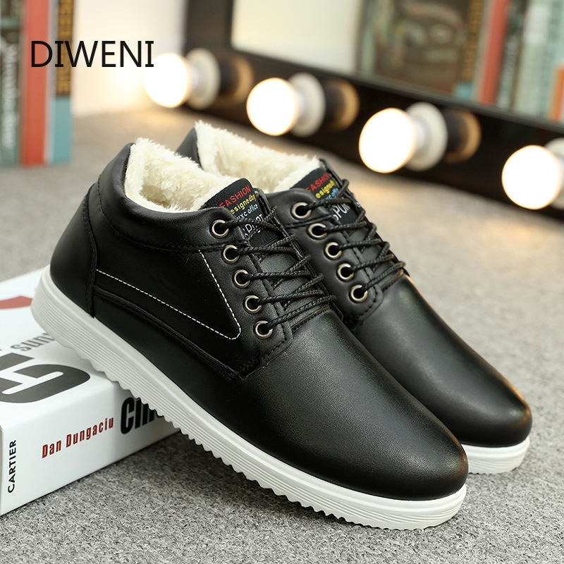 DIWEINI Men's Sneakers 2019 New Men's High-top Fashion Casual Inverness Men's Shoes Students Spring And Autumn Sports Boots B174