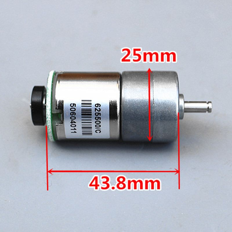 1PC M100 1:110 DC 12V Geared Motor Spare Parts for RC Toy Car Robot Model