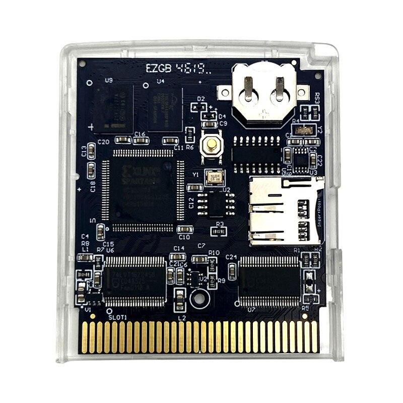 EDGB EZ-FLASH Junior Game Cartridge Card For Gameboy DMG GBO GB GBC GBP Game Console Custom Game Cartridge Card For GB GBC
