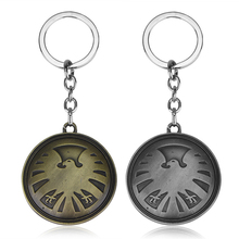 Marvel TV Series AGENTS Of SHIELD S.H.I.E.L.D Key Chain Avengers Comic Cosplay Ring Gift