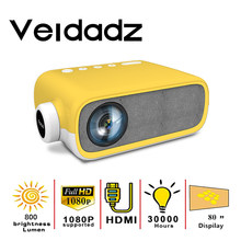 VEIDAIDZ New YG280 Portable Projection LED Mini Projector 480*272 Pixels Home Media Player With HDMI/USB/AV/Audio Interface
