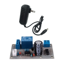1Pcs Ac100-240V To Dc 12V 2a Power Supply Adapter for Led Light Strip & 1Pcs Dc 12V Liquid Level Controller Sensor Module for Wa