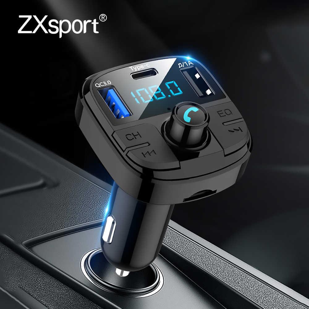 Araba MP3 çalar FM verici USB hızlı şarj tipi C şarj Bluetooth Suzuki Grand Vitara Swift için SX4 Gsr 600 750 Jimny
