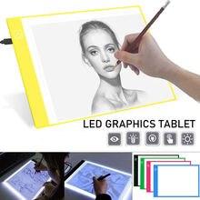 Светодиодный планшет для рисования a4 цифровой графический с