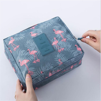Multifunction Travel Cosmetic Bag Neceser Women Makeup Bags Toiletries Organizer Waterproof Storage Make Up Wash Hanging Cases