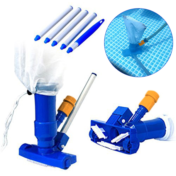 Wholesale Swimming Pool Spa Vacuum Brush Cleaner Portable Tool For Pond Fountain Hot Tub G66