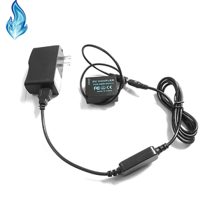Image 4 - DMW DCC11 BLG10 BLE9 dummy battery+mobile power bank cable+USB adapter for Lumix GF5 GF6 GX80 GX85 GX86CGK GX7 Mark II ZS60 TZ85