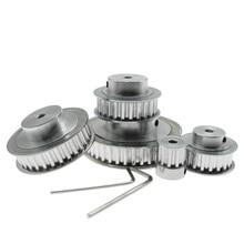 4 мм/5 мм/6 мм/8 мм/10 мм/12 мм Диаметр XL10/20/25/30 3D-принтеры синхронный двигатель с зубчатым ремнем приводной ременный шкив