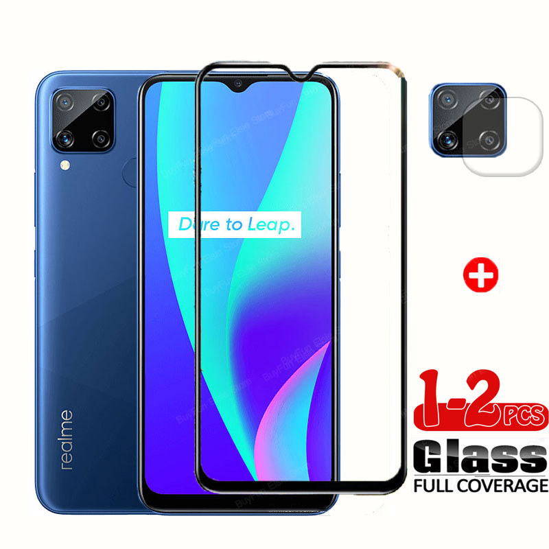 Camera Glass For Oppo Realme C15 Tempered Glass Back Lens Screen Protector Film on Real me C 15 C15 Protective Glass RMX2180