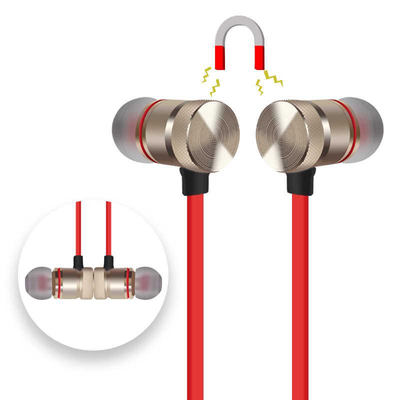 Bluetooth słuchawki metalowe słuchawki sportowe słuchawki bezprzewodowe odporny na pot słuchawki magnetyczne słuchawki stereofoniczny zestaw słuchawkowy do telefonu komórkowego C312