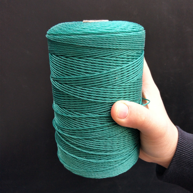 Fill Rope Line Woven Rope Line Polyethylene Nylon Braided Wire & Vegetable Fruit Climbing Shuttle Fishnet Rope Holding Bundled C