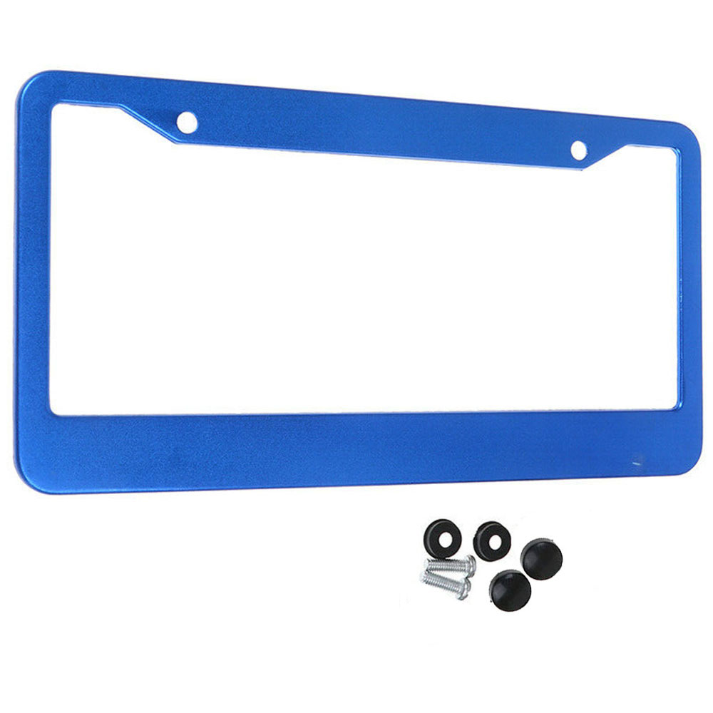 31cm*16cm Universal US Car Aluminum Alloy License Plate Frame Accessory Waterproof Fit Front &Rear Of Any US/ Canada Vehicles