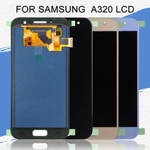 Dinamico A320 Lcd For Samsung Galaxy A3 2017 Display Touch Screen Digitizer Assembly Replacement A320F