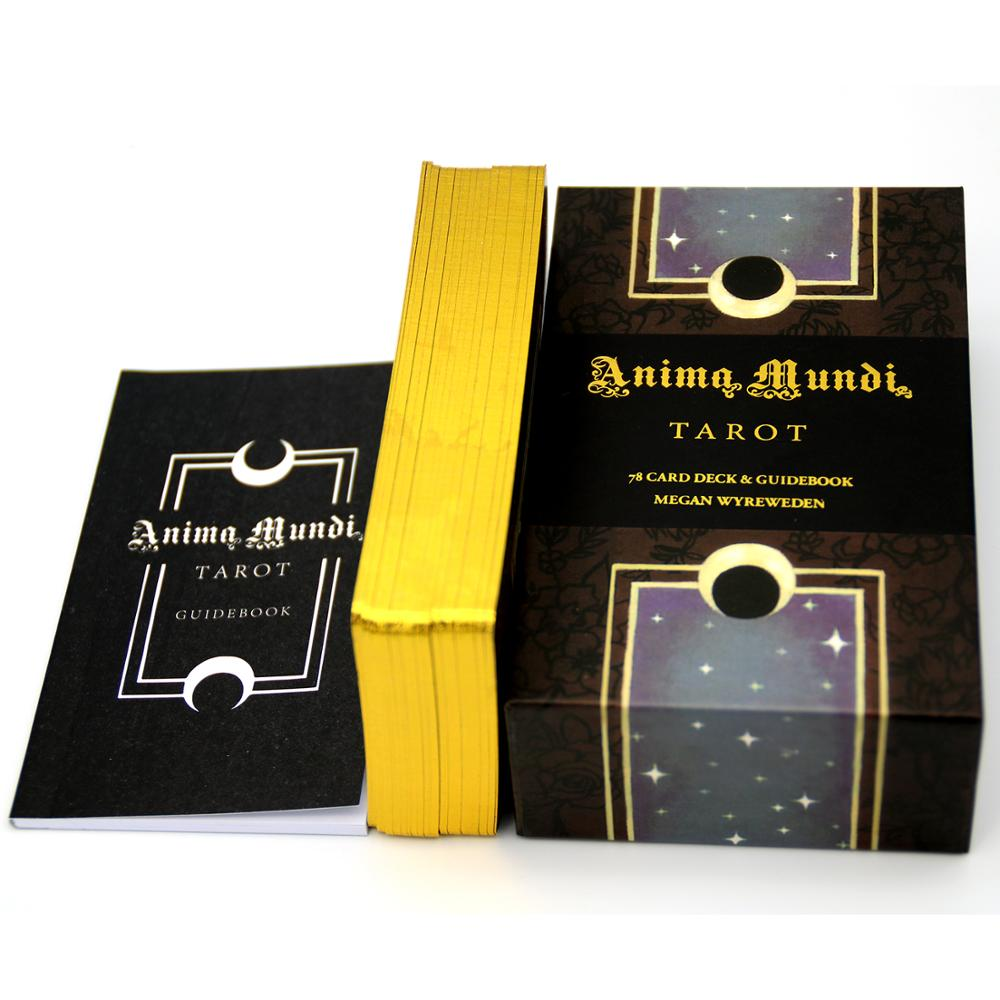 Anima Mundi Tarot Deck, 78 Card Deck With Guide Book, Nature Deck, Occult Divination Cards, Major And Minor Arcana