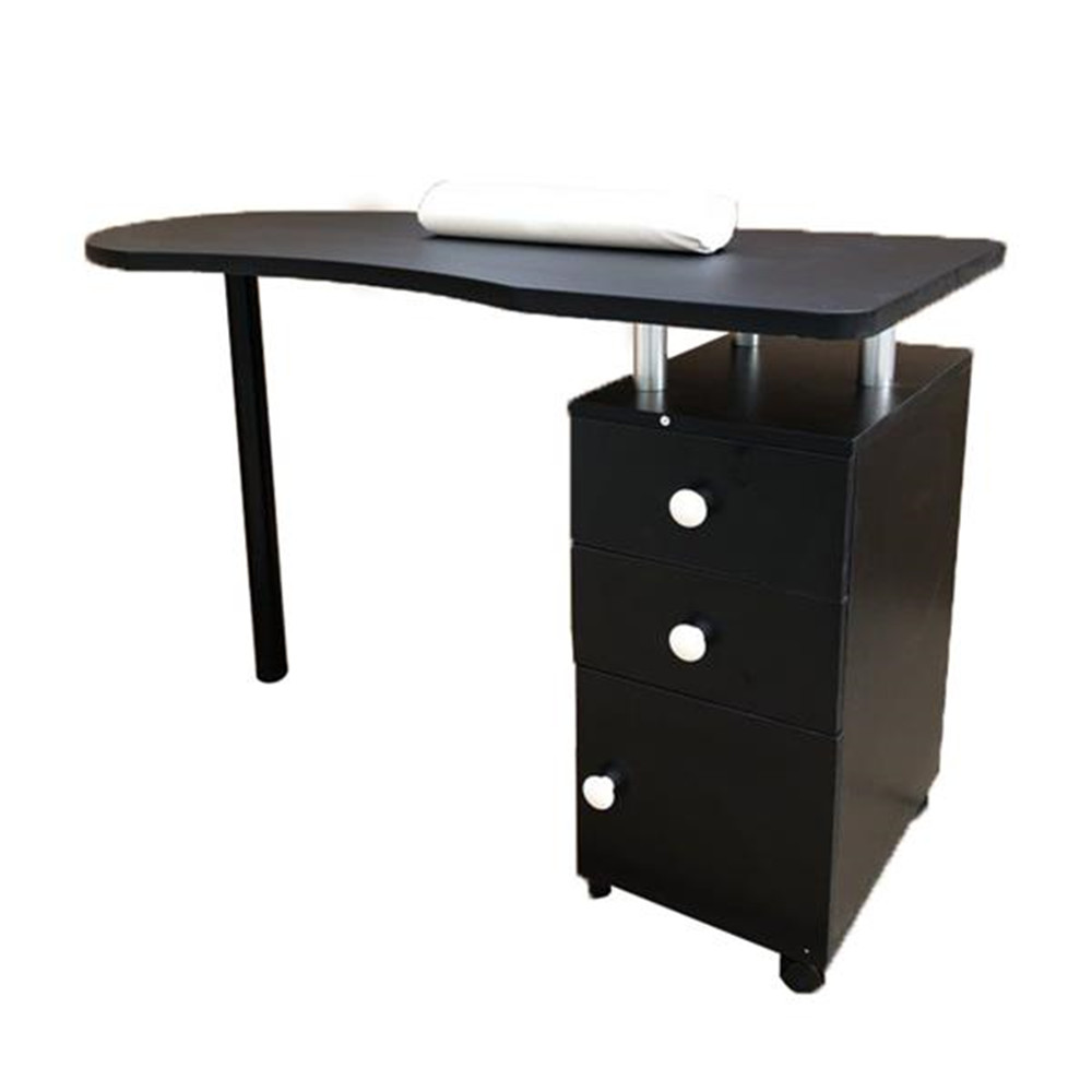 High Quality Manicure Nail Table With 3 Drawer US Stock Freeshipping