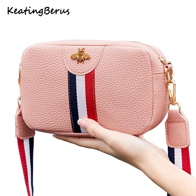 Mini Portable Single-shoulder Bag Female Casual Rectangle Shape PU Leather Phone Coin Bag New Trend Handbag Crossbody Bag
