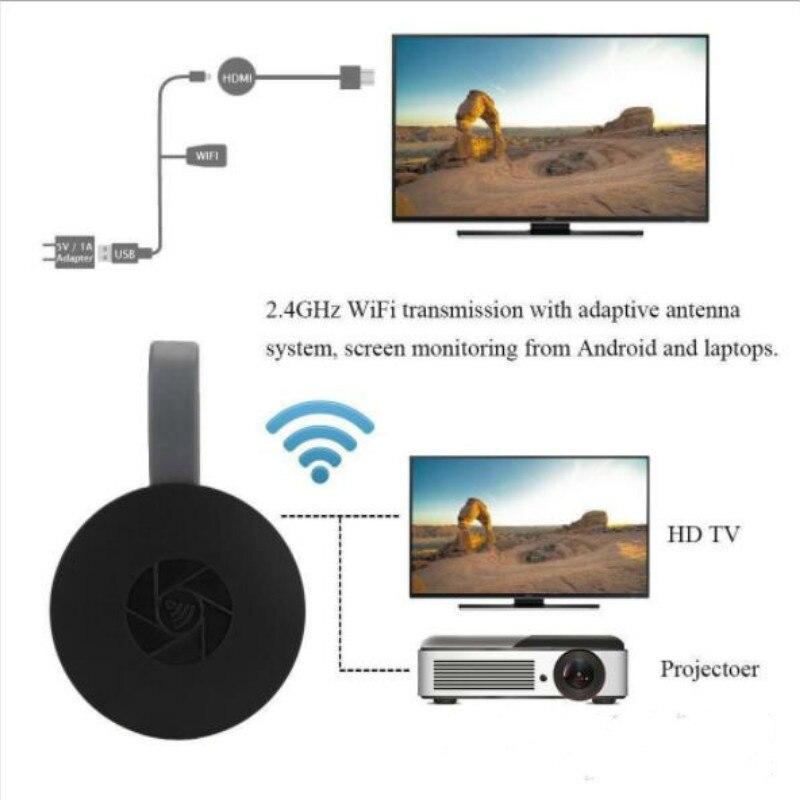 HDMI pantalla inalámbrica receptor WiFi 2,4G 1080G P móvil pantalla fundido reflejo Dongle adaptador empujador de exhibición para Netflix YouTube Nuevo reemplazo Control remoto N2QAYB001008 RC1008 para Panasoni TV LCD LED controlador con NETFLIX