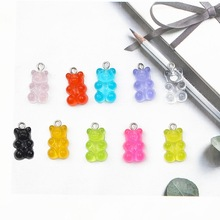 Necklace Pendant Keychain Decor-Accessories Patch-Findings Jewelry Gummy-Earrings Charms Diy