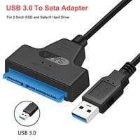 Usb SATA Kabel SATA 3 Zu Usb 3,0 Adapter Computer Kabel Anschlüsse Usb SATA Adapter Kabel Unterstützung 2,5 Zoll Ssd hdd Festplatte
