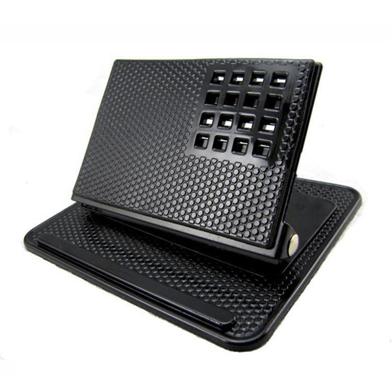 Support pour téléphone de voiture tapis anti-dérapant en Silicone Support de téléphone portable Support de Support GPS pour téléphone portable accessoires de style de voiture