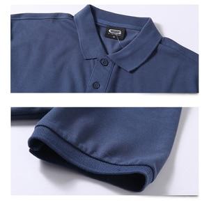 Image 2 - Summer Men Polo Shirt Brand Clothing Pure Cotton Men Business Casual Male Polo Shirt Short Sleeve Breathable Soft Polo Shirt 5XL