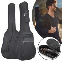 40/41 Inch Oxford Fabric Guitar Bag Soft Double Shoulder Straps Padded Acoustic Waterproof Backpack Instrument Bags Case