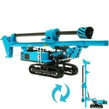 Kdw liga rotativa equipamento de perfuração escavadeira escavadora diecast modelo de veículo de construção crianças coleção modelo de decoração brinquedos