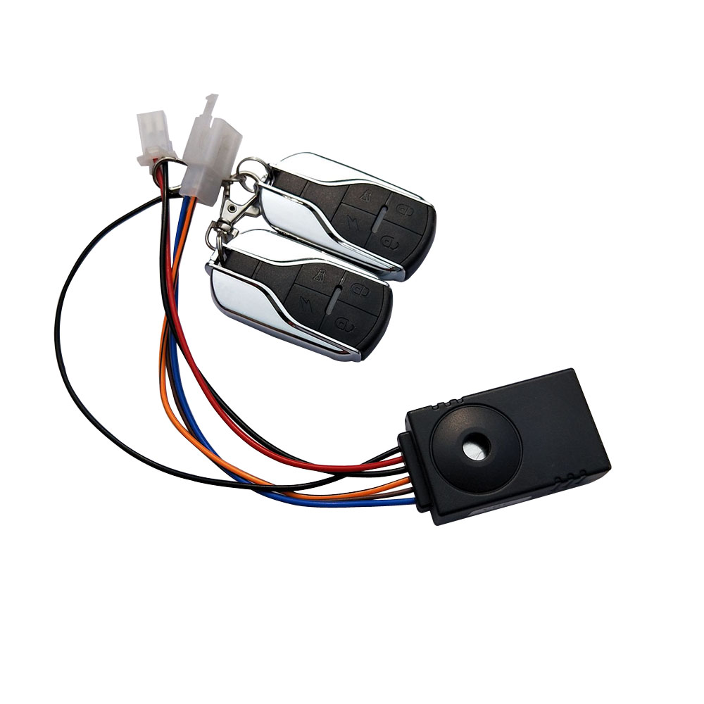 Ebike Alarm System 36V 48V 60V 72V With Two Switch For Electric Bicycle/scooter Motorcycle Tricycle E Bike/brushless Controller