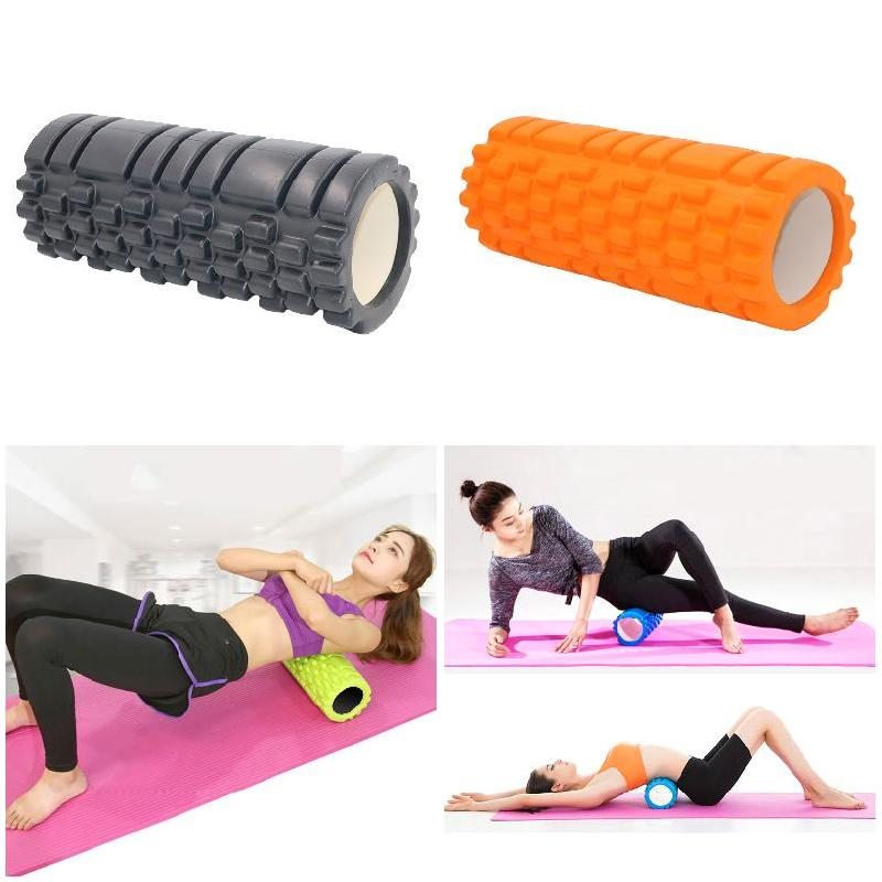 33x14cm Yoga Column Fitness High Density Foam Roller Exercise Back Muscle Pilates Yoga Training Massage Physiotherapy Exercise