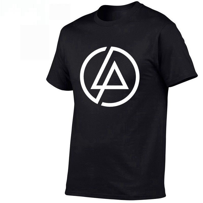 2019 Fashion High Quality Printing T-shirts Linkin Park T Shirt Cotton leisure Short Sleeve Tee Round Neck XS-XXL