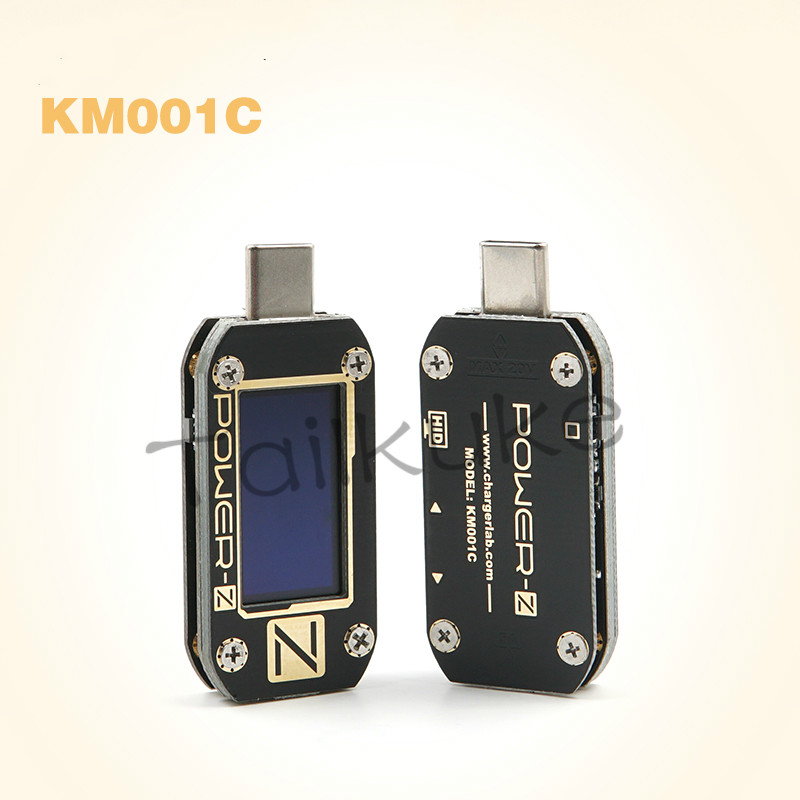 ChargerLAB POWER-Z USB PD Voltage And Current Ripple Double Type-C Tester KM001C