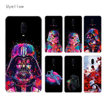 Uyellow Star Wars Watercolor Soft TPU Case For One Plus 7 Pro 6 6T 5 5T Fashion Fundas Printed Cover Silicone Luxury Phone Coque uyellow star wars watercolor soft tpu case for one plus 7 pro 6 6t 5 5t fashion fundas printed cover silicone luxury phone coque