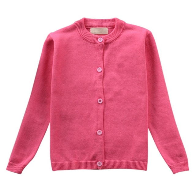 Autumn Winter Baby Children Clothes Knitted Cardigan Sweater Toddler Kids Boys Girls Children Clothing Kids Spring Wear New 1-5T 4